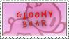 gloomy bear stamp - 2