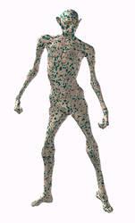 Gnorvak - The Alien by miguelsantos