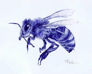 Ballpoint pen / Bee