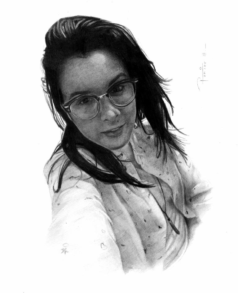 retrato por encargo 2018 by reniervivas666