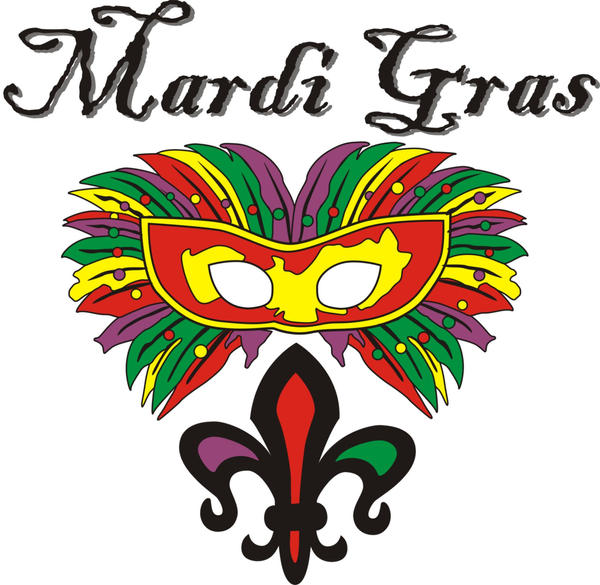 Mardi Gras Logo by justin33k on DeviantArt