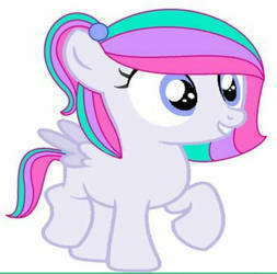 My oc Charm Jewel as an Average Filly by LoomtopiaLmt1