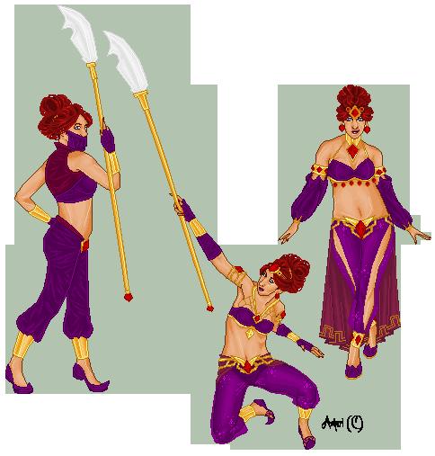 Gerudo Warrior by Ashuri