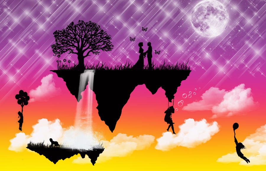 A Surreal Love by BrownEyedWyldChyld
