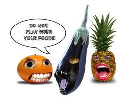 EAT YOUR VEG by Jungle-UrbanWarrior