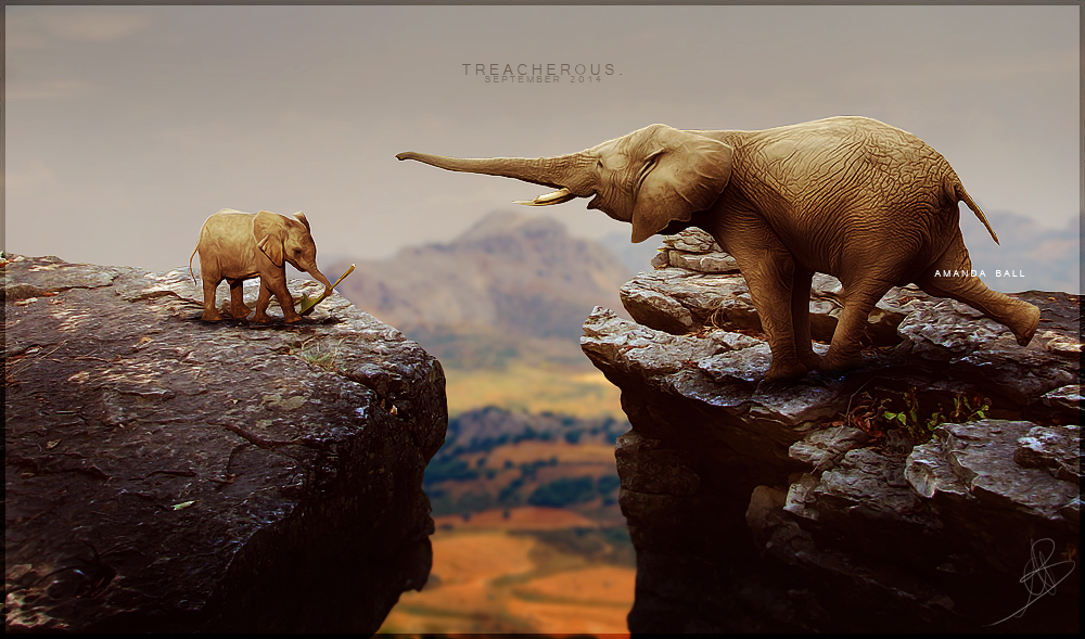 treacherous. by xxELUHFUNT