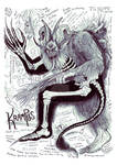 Krampus Anatomy Study
