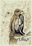 Tlanuwa - the Great, Mythic Hawk