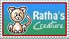 Ratha's Creature Stamp by UnicornReality