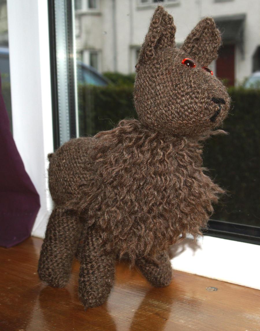 Llama plush by UnicornReality