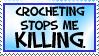 Crochet Stamp by UnicornReality
