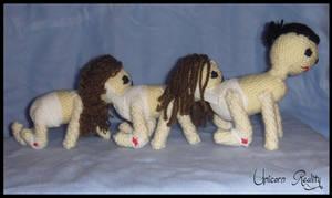 Human Centipede Plushie by UnicornReality