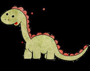 Clive the Dinosaur by UnicornReality