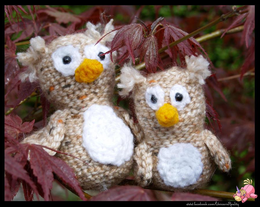 Owl and Owlet by UnicornReality