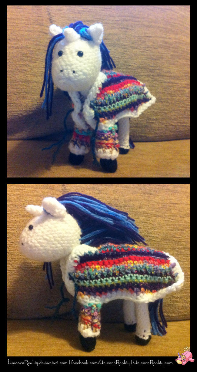 Technicolour Dreamcoat Unicorn by UnicornReality