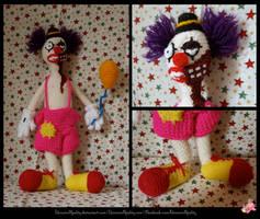 Mister Undead Clown by UnicornReality