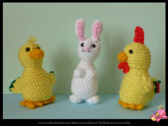 Easter Friends by UnicornReality