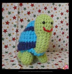Happy Tortoise. by UnicornReality