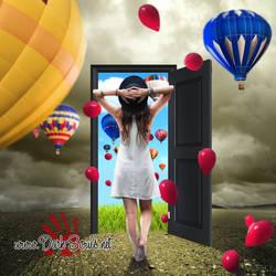 Open Door by MadaB