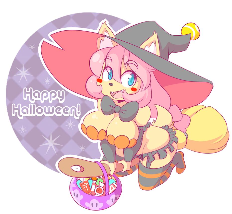 Happy Halloween! (2015) by theycallhimcake