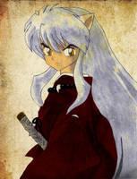 Inuyasha - coloured by Kyoko-chan16