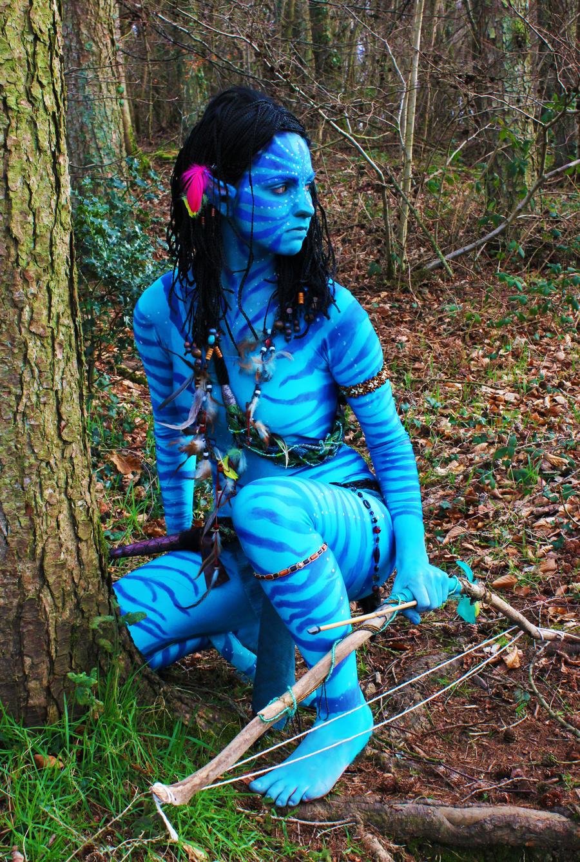 Sexy Women Naked Avatar Body Paint