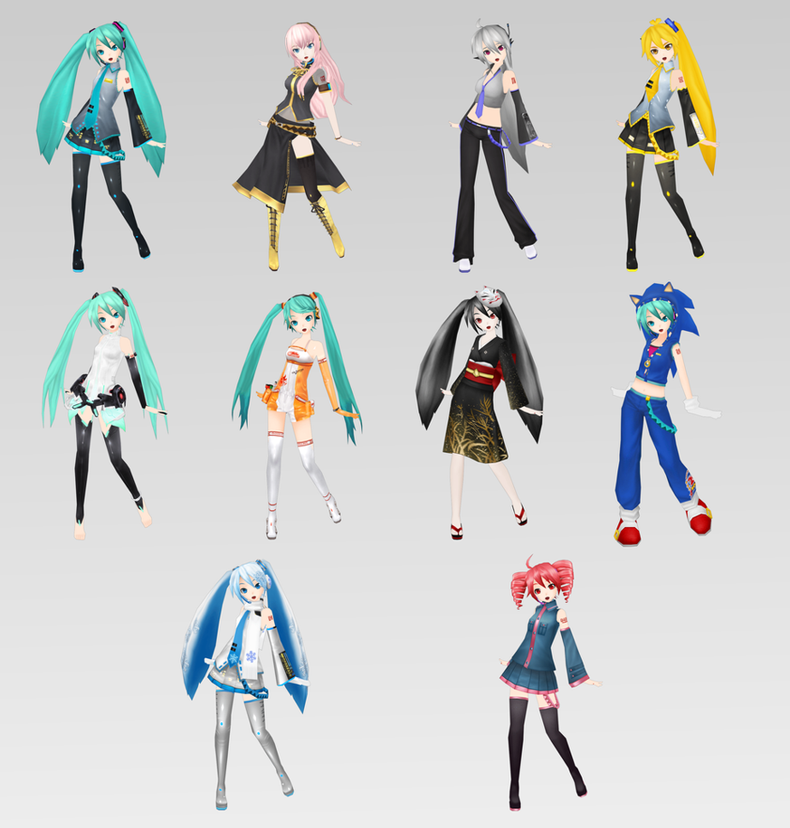 Project DIVA Extend Models by bookazoid