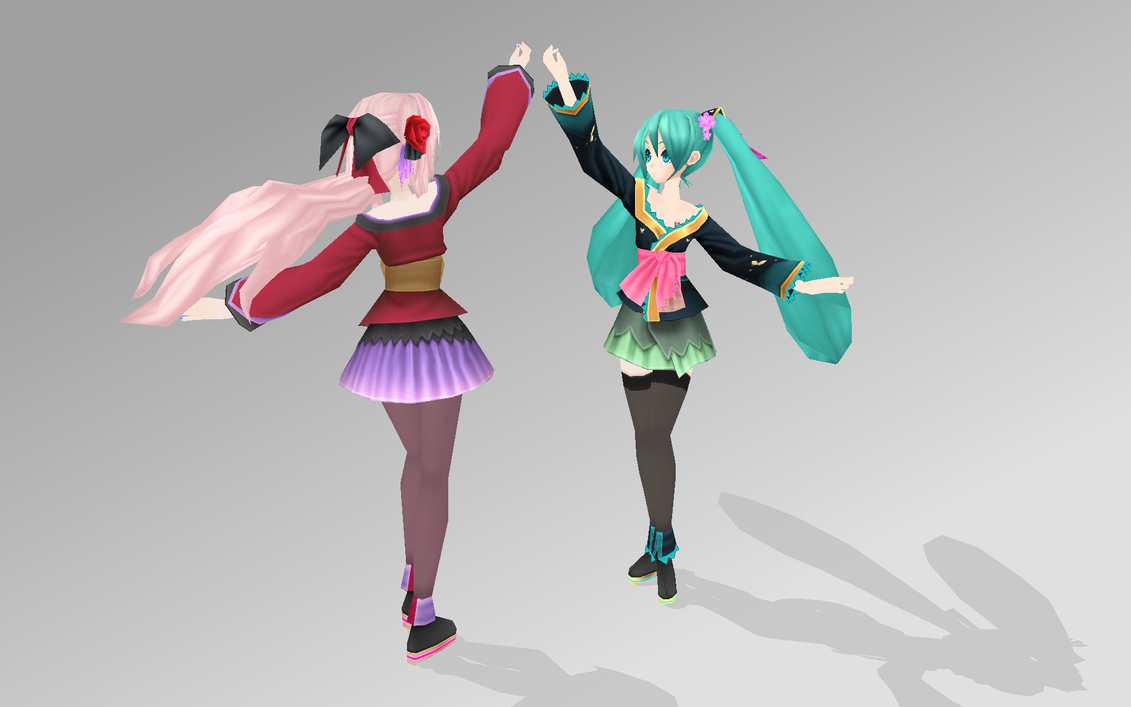 miku and luka magnet pdext by bookazoid on deviantart