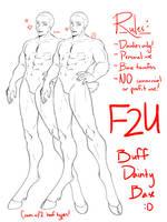 [F2U] Buff Dainty Base