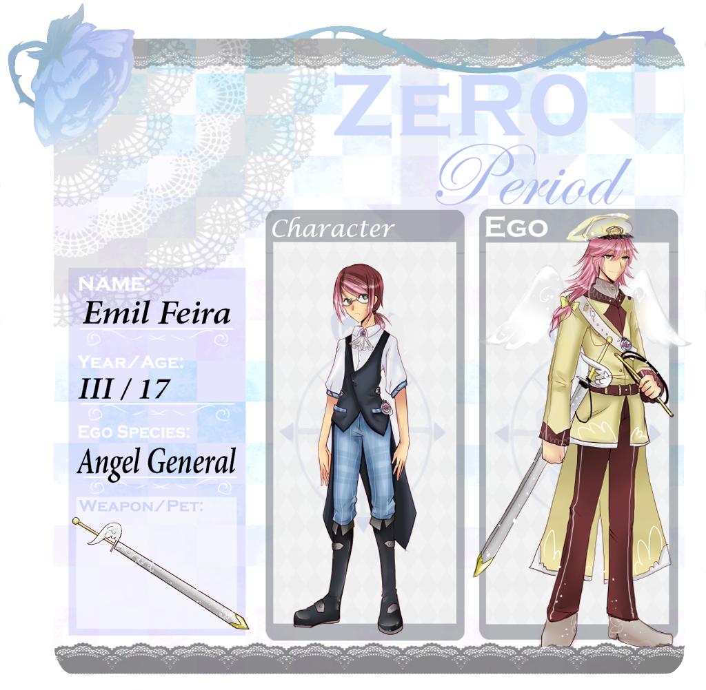 Zero Period App: Emil Feira by Usamimi-kun