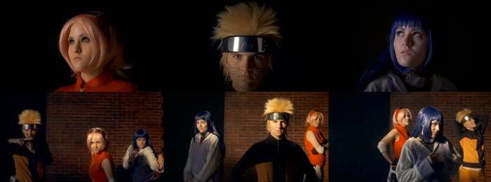 Sakura, Naruto, Hinata Video Sceenshots