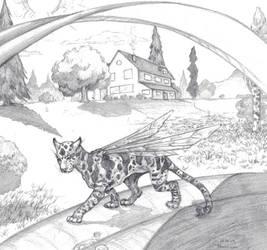Garden Fairy Jaguar