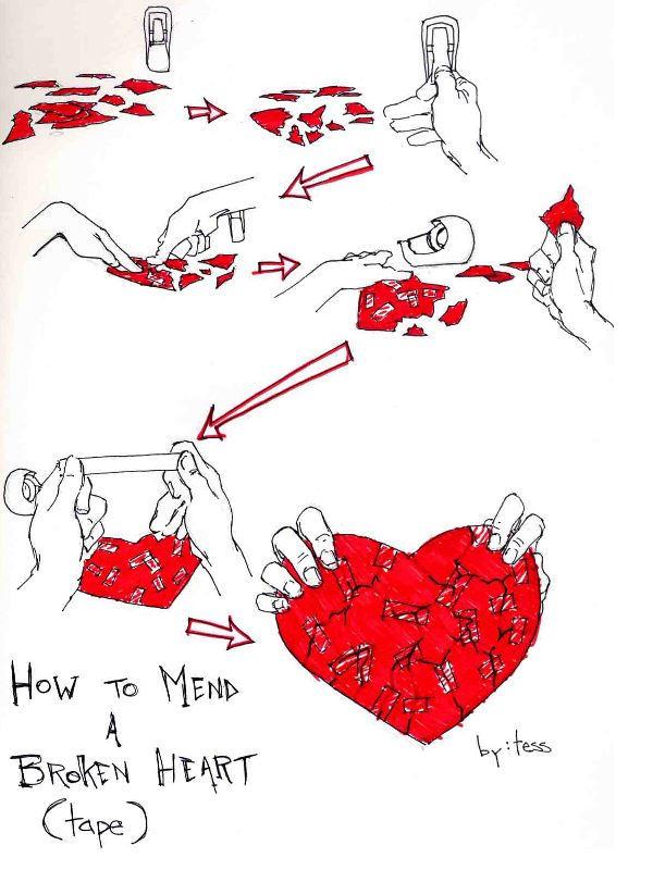 How to Mend a Broken Heart by Cypher-Calliste
