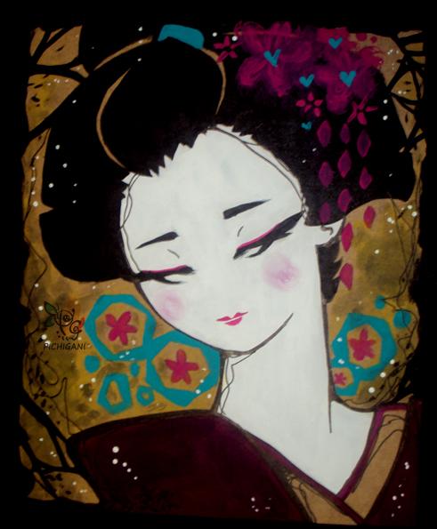 Geisha by pichigani