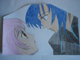 Ikuto and Amu by GokkiVanGogh