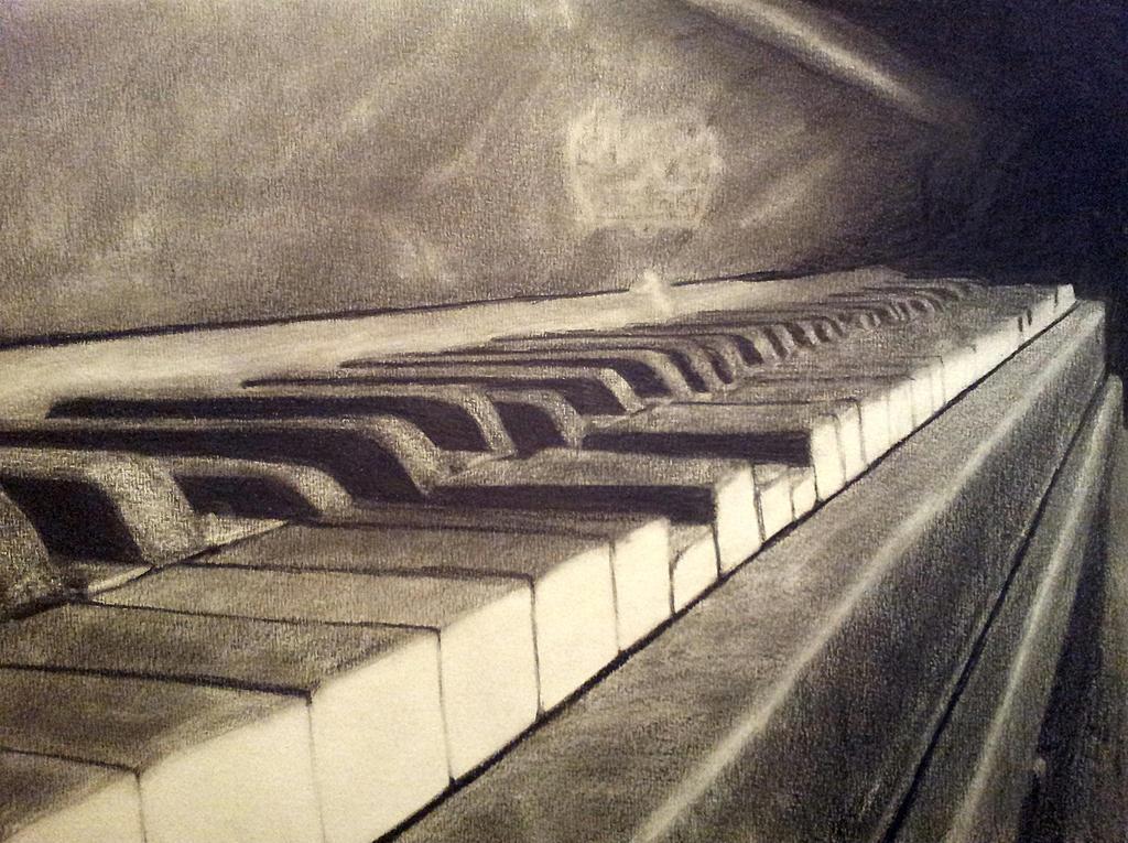 Piano by GokkiVanGogh