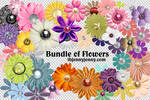 Free Bundle of PSD Flowers (44 in all)