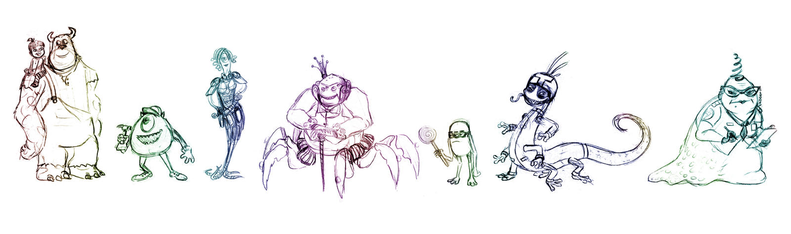 How To Draw Fungus From Monsters University Step 6 Apps