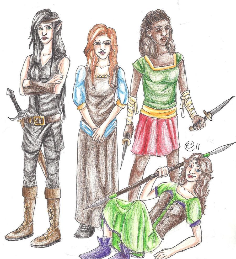 The Inheritance girls