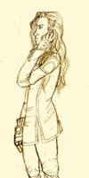 Asami Sato - a sketch