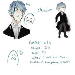 Cly OC profile by Dapseii