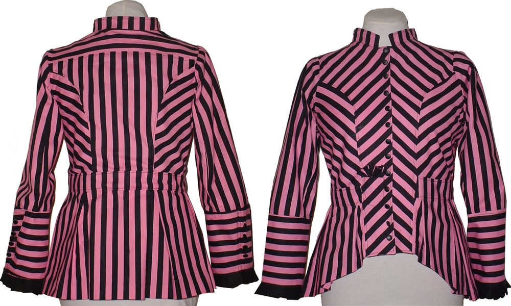 Black And Pink Jacket