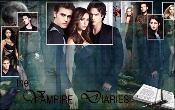 Framed Vampire Diaries