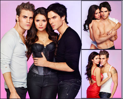 Stefan, Elana and Damon