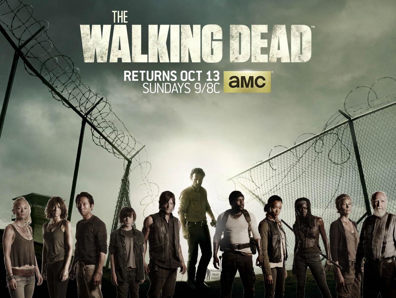 walking dead season 4 cast wallpaper by daydreambeliever