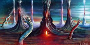 Worm Planet
