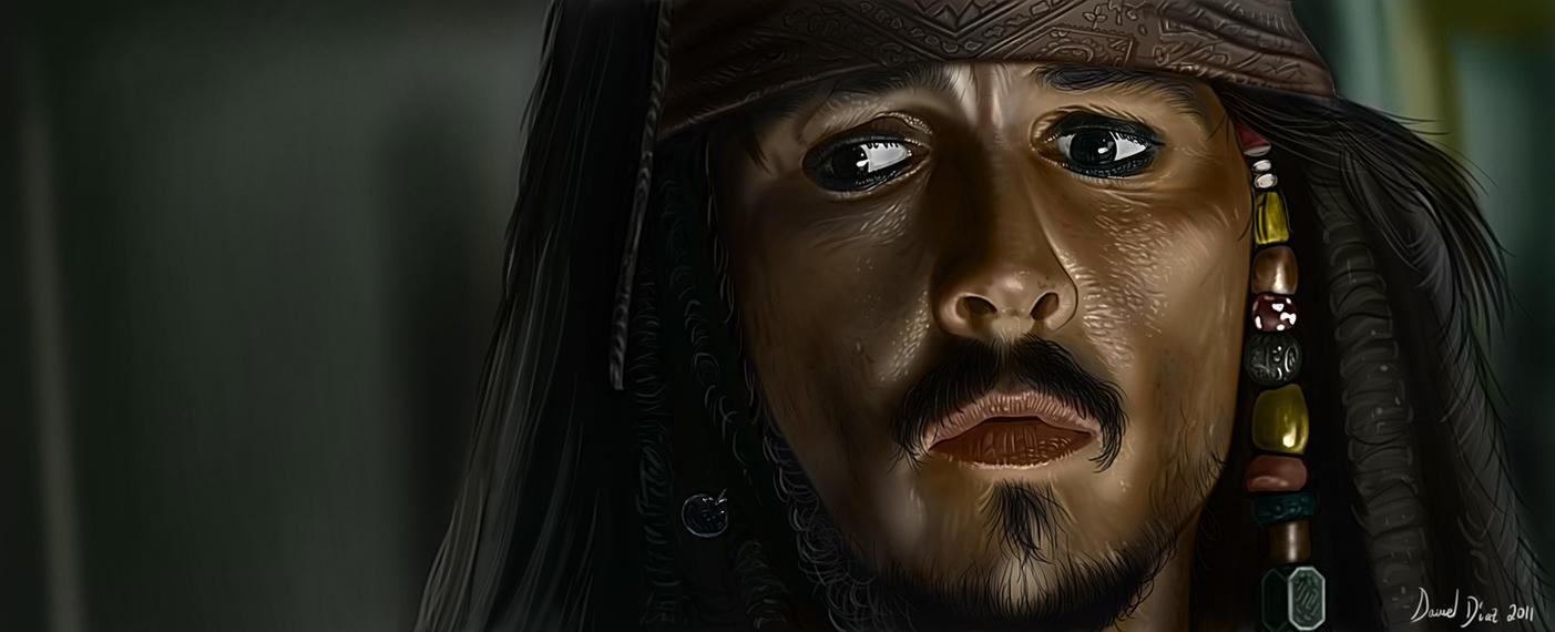 Jack Sparrow by danimix1983