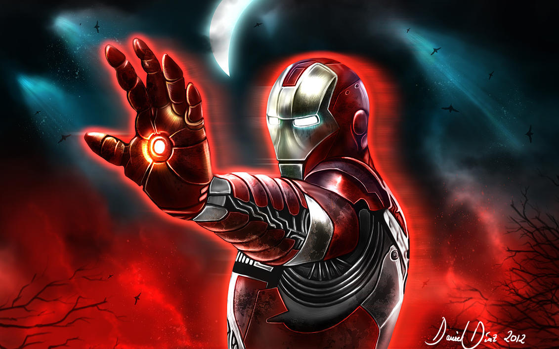 Ironman in the Hell by danimix1983
