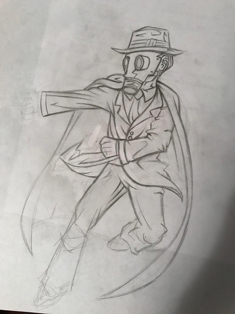 Crimefighter Guy by Generalorder4