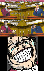 Miles Edgeworth and His Terrible Puns #20